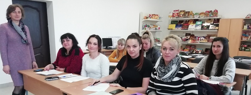 Навчання для продавців продовольчих товарів
