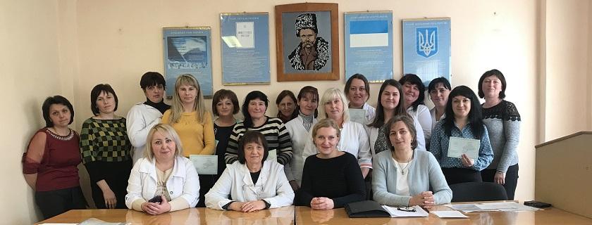 Черговий випуск молодших медичних сестер з догляду за хворими